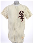 1956-58 Cal Abrams / Jim Delsing Chicago White Sox Game Worn Home Uniform w/ Jersey, Pants & Stirrups (MEARS LOA)