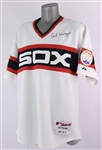 2008 Art Kusnyer Chicago White Sox Signed 1983 Throwback Jersey (MEARS LOA/JSA)