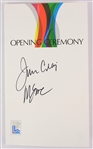 1980 Jim Craig Mike Eruzione USA Hockey Signed XIII Olympic Winter Games Lake Placid Opening Ceremony Program (JSA)