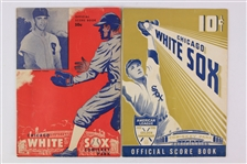 1949-51 Chicago White Sox Comiskey Park Scored Game Programs - Lot of 2