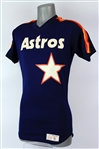 1988-93 Jorge Orta Houston Astros Signed Post Career Batting Practice Jersey (MEARS LOA/JSA)
