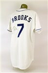 2000s Garth Brooks Signed Teammates for Kids Charity Softball Jersey (MEARS LOA/JSA)