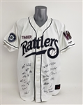 2010 Wisconsin Timber Rattlers Team Signed Jersey w/ 25 Signatures Including Khris Davis, Jake Odorizzi & More (MEARS LOA/JSA)