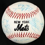 1985 New York Mets Team Signed Baseball w/ 28 Signatures Including Dwight Gooden, Daryl Strawberry, Gary Carter, Mookie Wilson & More (JSA)