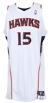 2008-2009 Al Horford Atlanta Hawks Game Worn Home Jersey (MEARS A10/MeiGray/Team Letter)