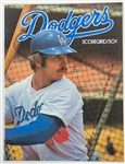 1977 Los Angeles Dodgers vs Philadelphia Phillies LCS Program