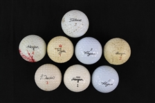 1970s-80s Ben Hogan Lee Trevino Tony Jacklin Golf Ball Collection - Lot of 9