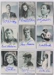 1999 The Twilight Zone Trading Card Collection - Lot of 100+ w/ Binder & 18 Signed Cards Including William Shatner, Cloris Leachman, Martin Milner  & More (JSA)