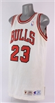 1995-96 Michael Jordan Chicago Bulls Pro Cut Home Jersey (MEARS A5)