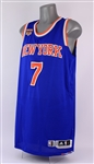 2016-17 Carmelo Anthony New York Knicks Road Jersey (MEARS A5)