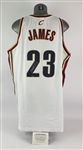 2003 LeBron James Cleveland Cavaliers Signed Jersey (Upper Deck)
