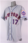 2001 Kevin Appier New York Mets Signed Game Worn Road Jersey (MEARS LOA/JSA)