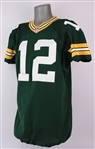 2014 Aaron Rodgers Green Bay Packers Home Jersey (MEARS A5)