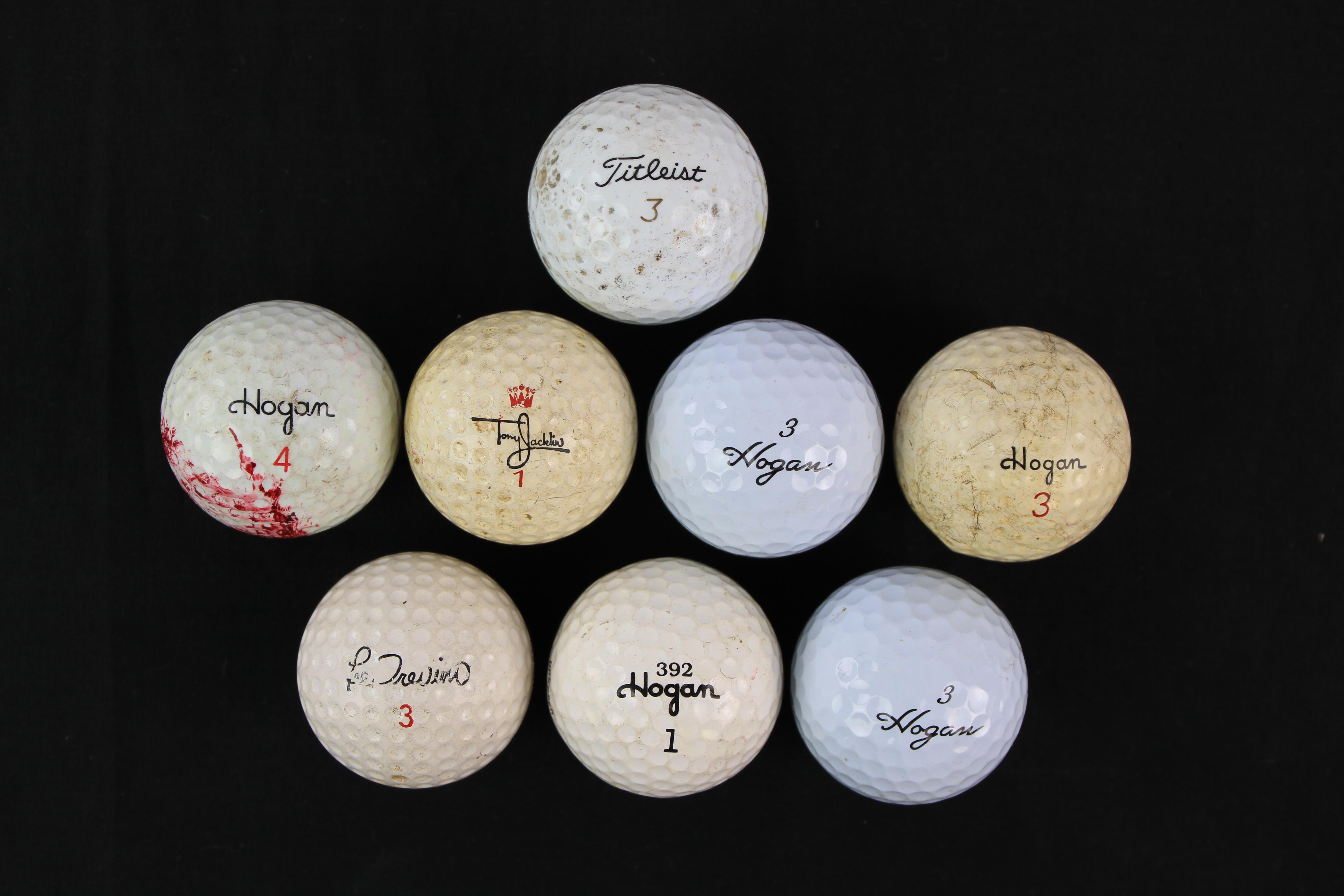 Lot Detail - 1970's-80's Ben Hogan Lee Trevino Tony Jacklin Golf ...