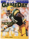1992 (September 20) Brett Favre Green Bay Packers Cincinnati Bengals Game Program (Favres First Career Start/TD/Victory)