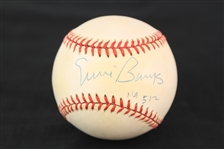 1994 Ernie Banks Chicago Cubs Signed ONL White Baseball (JSA)