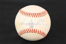 1995-99 Reggie Jackson New York Yankees Signed OAL Budig Baseball (JSA)