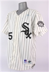 1995 Frank Thomas Chicago White Sox Signed Home Jersey w/ All Star Game Patch (MEARS LOA/Beckett LOA)
