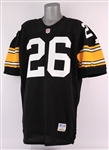 1996 Rod Woodson Pittsburgh Steelers Signed Home Jersey (MEARS A5/JSA)