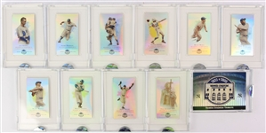 2008 eTopps Allen & Ginter Yankee Stadium Tribute 11 Card Set (0382/1499)