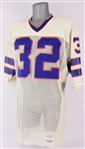 1979-80 OJ Simpson Buffalo Bills Signed Post Career Jersey (MEARS LOA/JSA)