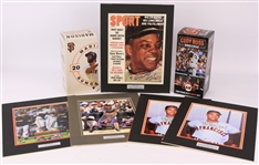 2000s-10s San Francisco Giants Memorabilia Collection - Lot of 7 w/ Willie Mays Signed Magazine, Juan Marichal Signed Photos, MIB Bobbleheads & More (JSA)