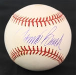 2000s Johnny Bench Cincinnati Reds Signed OML Selig Baseball (JSA)