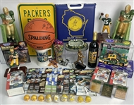 Green Bay Packers Milwaukee Brewers Milwaukee Bucks Mixed Sports Lot