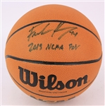 2015 Frank Kaminsky Wisconsin Badgers Signed Basketball (JSA)