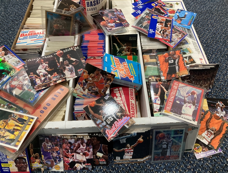 1980s-1990s Assorted Basketball Trading Cards
