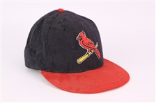 1998 circa St Louis Cardinals Game Worn Cap Attributed to Mark McGwire (Ben Barkin Collection)