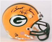 2000s Bart Starr Green Bay Packers Signed Mini Helmet (PSA/DNA)