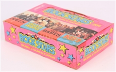 1979 Donruss Rock Stars Trading Cards - Hobby Box w/ 36 Sealed Packs