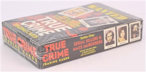 1992 True Crime Trading Cards Sealed Hobby Box w/ 36 Packs
