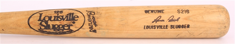 1983-85 Lance Parrish / Kirk Gibson Detroit Tigers Louisville Slugger Professional Model Game Used Bat (MEARS LOA)