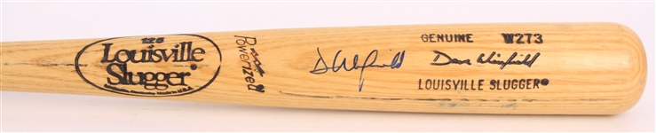 1986-88 Dave Winfield New York Yankees Signed Louisville Slugger Professional Model Bat (MEARS A6/JSA)