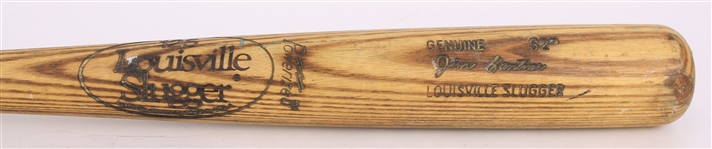 1980-83 Jim Gantner Milwaukee Brewers Louisville Slugger Professional Model Game Used Bat (MEARS LOA)