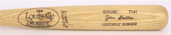 1983-85 Jim Gantner Milwaukee Brewers Louisville Slugger Professional Model Game Used Bat (MEARS LOA)