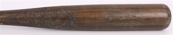 "1980-83 Ricky ""Sneaky Pete"" Peters Tigers/Athletics Louisville Slugger Professional Model Game Used Bat (MEARS LOA)"