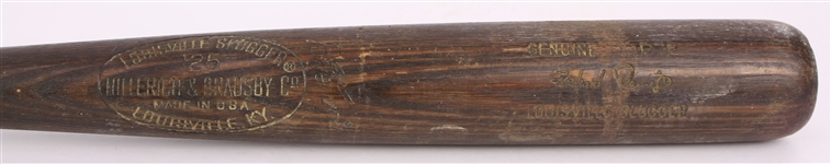 1977-79 Dick Davis Milwaukee Brewers H&B Louisville Slugger Professional Model Game Used Bat (MEARS LOA)