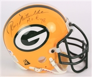 2000s Ray Nitschke Clay Matthews CC Sabathia Ben Davidson Signed Photos & Mini Helmet - Lot of 4 (JSA)