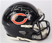 2017-20 Mitchell Trubisky Chicago Bears Signed Mini Helmet (JSA/Fanatics)