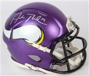 2014-20 Adam Thielen Minnesota Vikings Signed Mini Helmet (*JSA*)