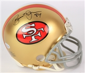 2014 Brent Jones San Francisco 49ers Signed Mini Helmet (JSA)