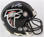 2014-19 Devonta Freeman Atlanta Falcons Signed Mini Helmet (JSA)