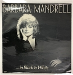 "1982 Barbara Mandrell In Black & White 23.5"" x 23.5"" Poster"