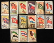 1963 Topps Flag Midge Trading Cards - Lot of 15