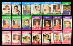 1967-68 A&BC Chewing Gum Footballers Soccer Trading Cards - Lot of 35